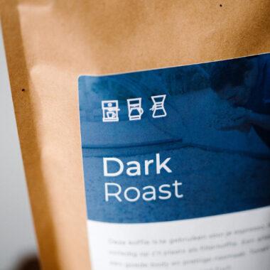 Dark roast | Zwartekoffie