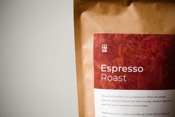 Espresso Roast   Zwartekoffie