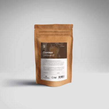 Donker Gebrand koffie bonen