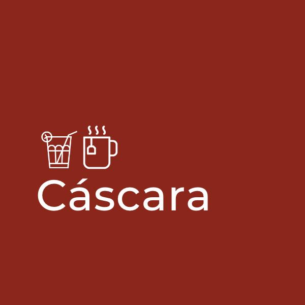Cascara schil van de koffiebes