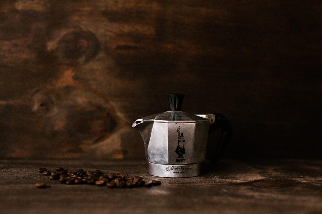 Thuis koffie zetten